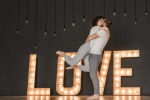 Coup de foudre amoureux